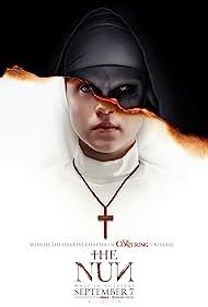 Bonnie Aarons and Taissa Farmiga in The Nun (2018)