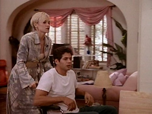 Josie Bissett and Thomas Calabro in Melrose Place (1992)