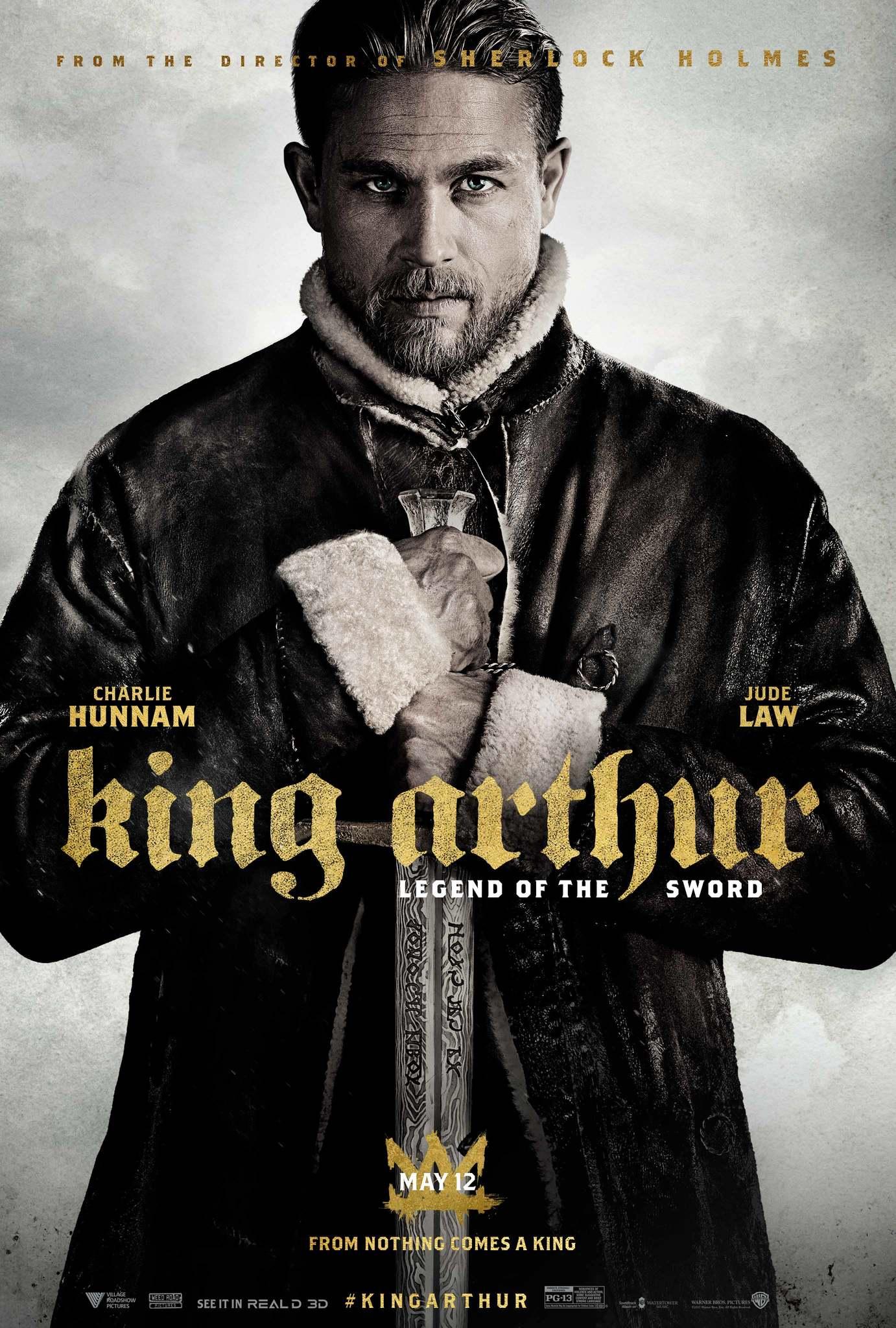 دانلود زیرنویس فارسی فیلم King Arthur: Legend of the Sword