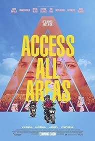 Jo Hartley, Nigel Lindsay, Georgie Henley, Ella Purnell, Jordan Stephens, and Edward Bluemel in Access All Areas (2017)