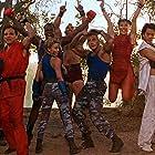 Jean-Claude Van Damme, Kylie Minogue, Ming-Na Wen, Grand L. Bush, Andrew Bryniarski, Damian Chapa, Byron Mann, and Peter Navy Tuiasosopo in Street Fighter (1994)