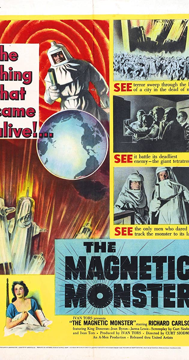 Subtitle of The Magnetic Monster