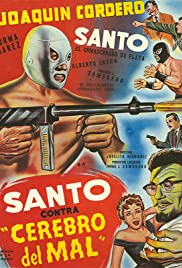 Santo vs. the Evil Brain Poster
