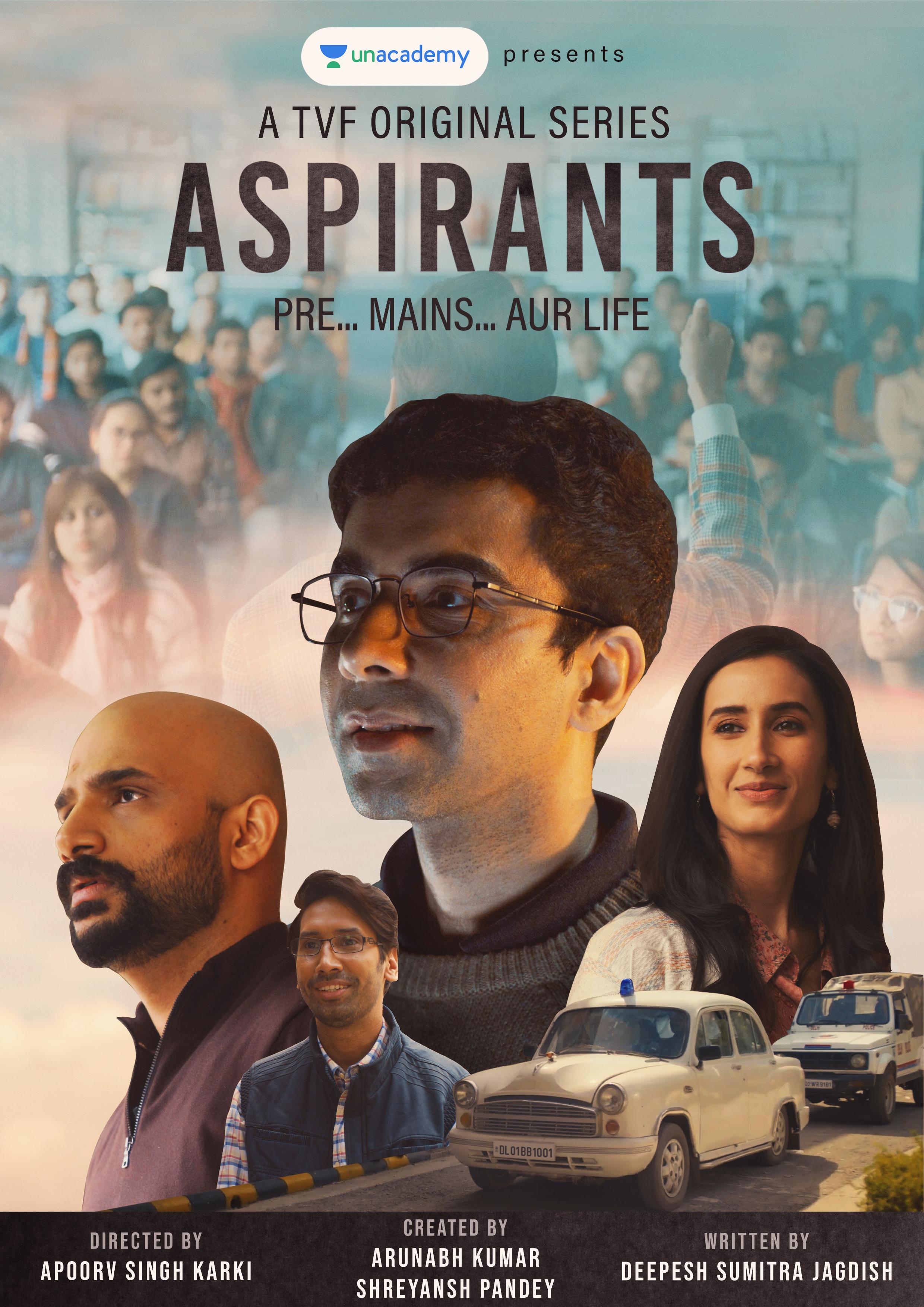 Download Aspirants (2021) Season 1 Hindi Complete TVF Original WEB Series 480p | 720p HDRip