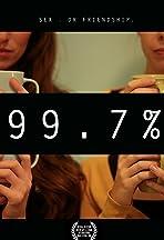 99.7 %