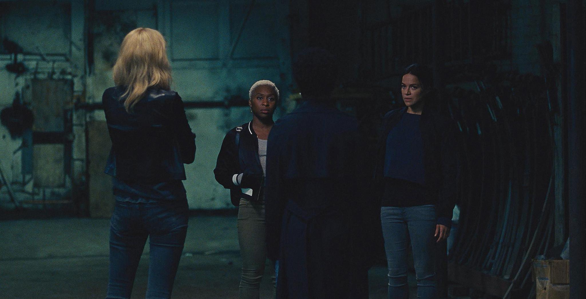 Viola Davis, Michelle Rodriguez, Elizabeth Debicki, and Cynthia Erivo in Widows (2018)