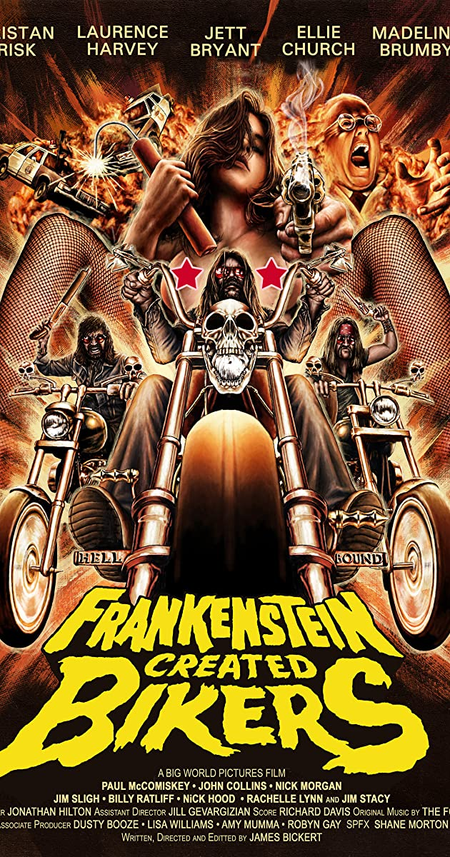 Frankenstein Created Bikers (2016) Subtitles