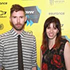 Sarah-Violet Bliss and Charles Rogers at an event for Fort Tilden (2014)