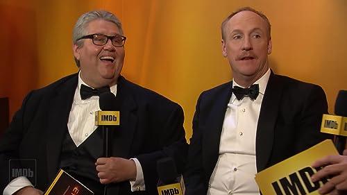 """Veep"" Stars Dave Mandel and Matt Walsh on Their Emmy Win"