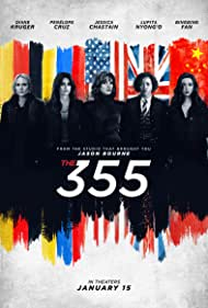 Penélope Cruz, Diane Kruger, Bingbing Fan, Jessica Chastain, and Lupita Nyong'o in The 355 (2022)