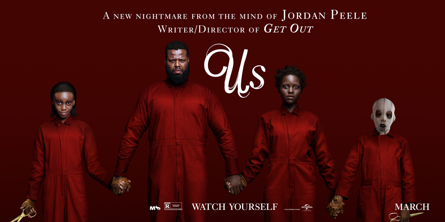 Lupita Nyong'o, Winston Duke, Evan Alex, and Shahadi Wright Joseph in Us (2019)