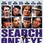 Steve Buscemi, Samuel L. Jackson, Jennifer Beals, John Turturro, Sam Rockwell, Michael Badalucco, Holt McCallany, and Nicholas Turturro in The Search for One-eye Jimmy (1994)