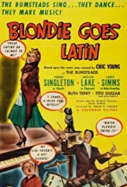 Blondie Goes Latin Poster