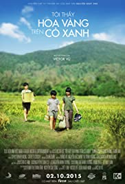 Yellow Flowers on the Green Grass Poster