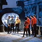 Leonard Nimoy, William Shatner, DeForest Kelley, Nichelle Nichols, and David L. Ross in Star Trek (1966)
