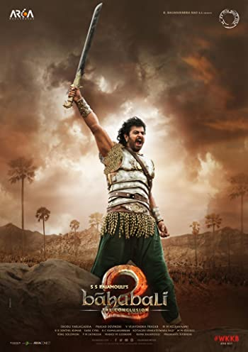 Poster of Baahubali 2 The Conclusion 2017 1080p Hindi BluRay Full Movie Download HD