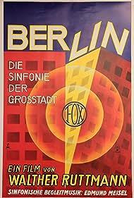 Edmund Meisel and Walter Ruttmann in Berlin - Die Sinfonie der Großstadt (1927)
