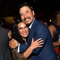 Randall Park and Ali Wong at an event for Always Be My Maybe (2019)