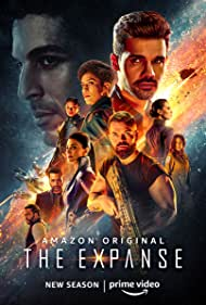 Shohreh Aghdashloo, Cas Anvar, Chad L. Coleman, Wes Chatham, Steven Strait, Nadine Nicole, Keon Alexander, Frankie Adams, Cara Gee, and Dominique Tipper in The Expanse (2015)