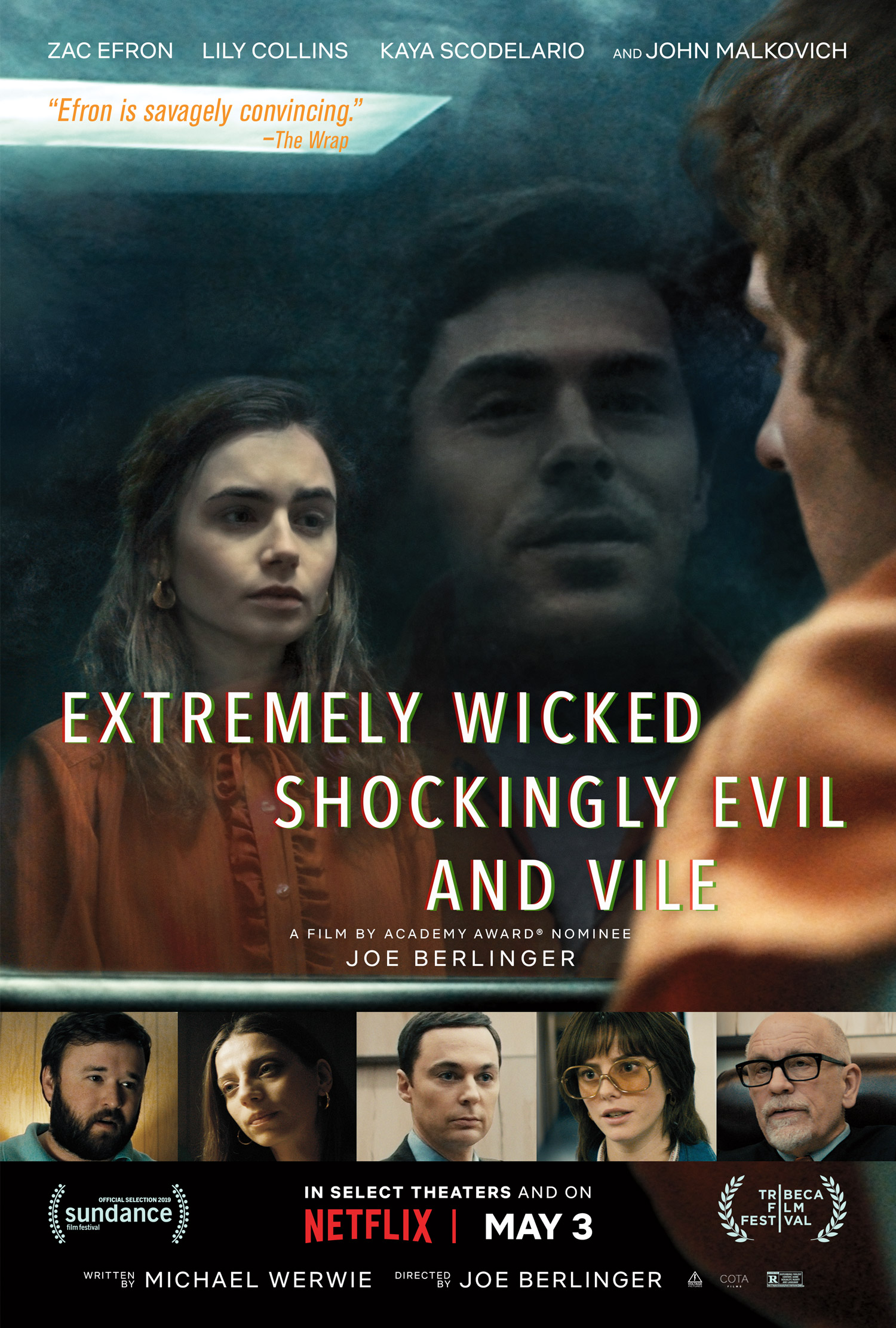 Žavusis žudikas Tedas Bandis (2019) / Extremely Wicked, Shockingly Evil and Vile