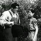 Anne Nagel and Glenn Strange in The Mad Monster (1942)
