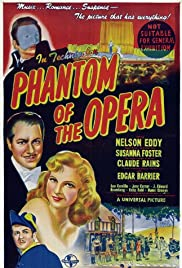 Phantom of the Opera (1943) Poster - Movie Forum, Cast, Reviews