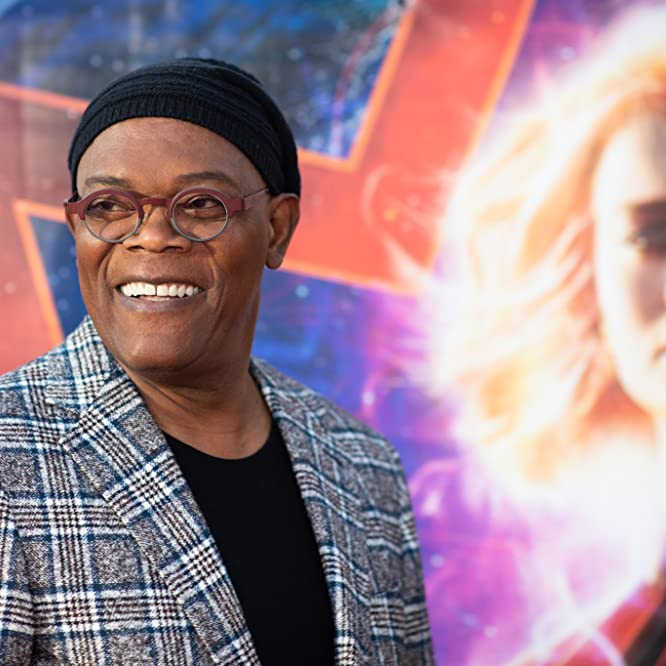 Samuel L. Jackson at an event for Captain Marvel (2019)