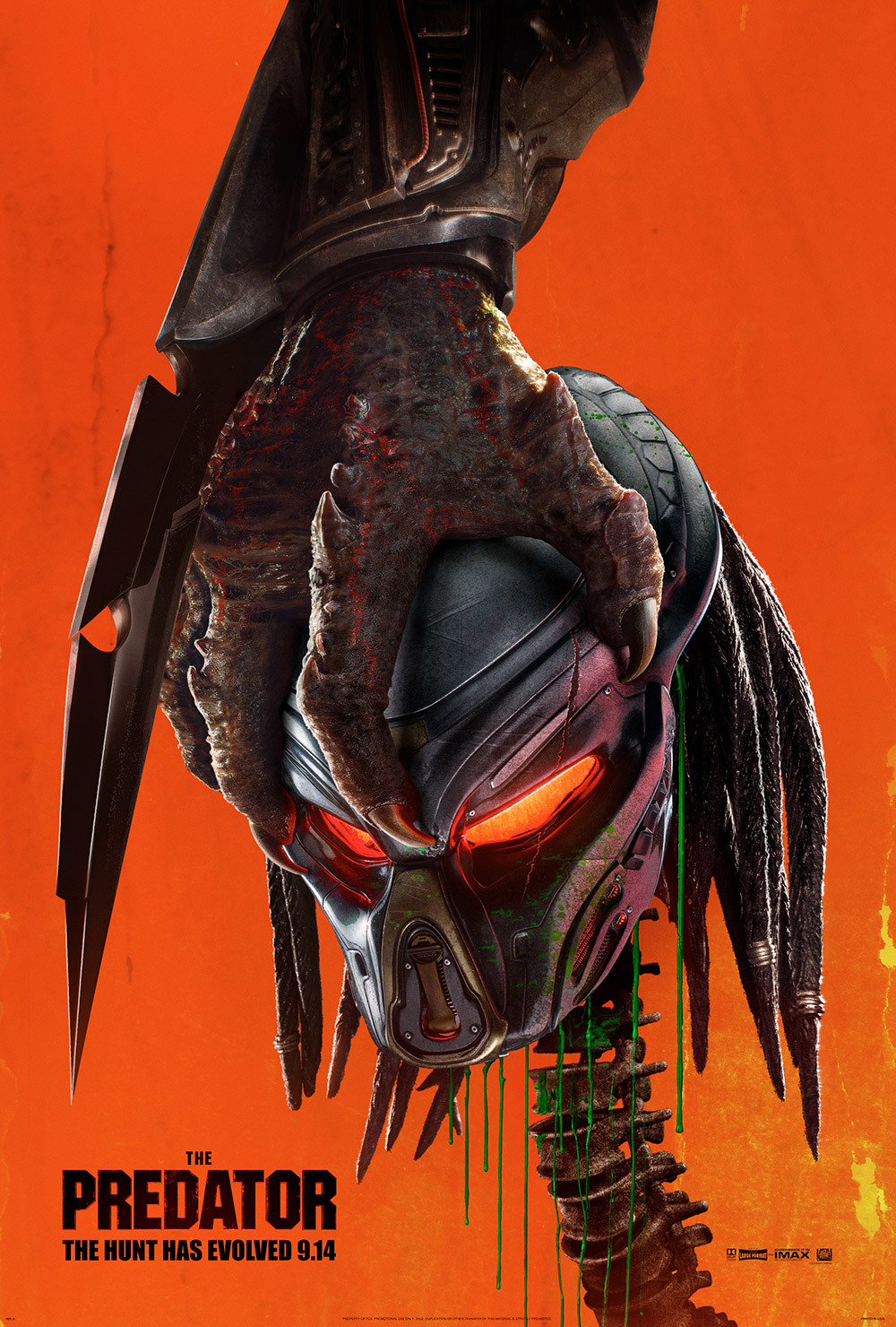 Image result for the predator movie poster 2018 official