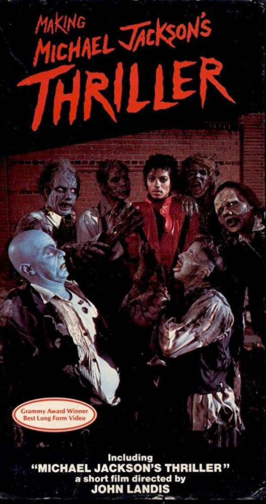 Michael Jackson, Jack Bricker, Cynthia Garris, and Tim Lawrence in Michael Jackson: Thriller (1983)