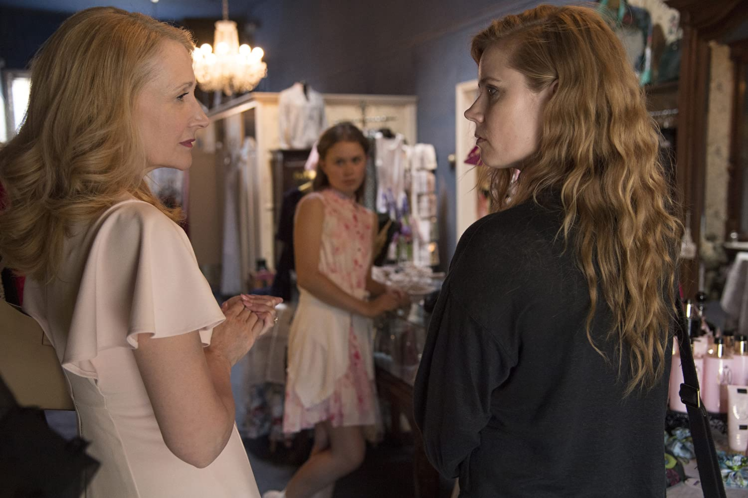 Amy Adams, Patricia Clarkson, and Eliza Scanlen in Sharp Objects (2018)