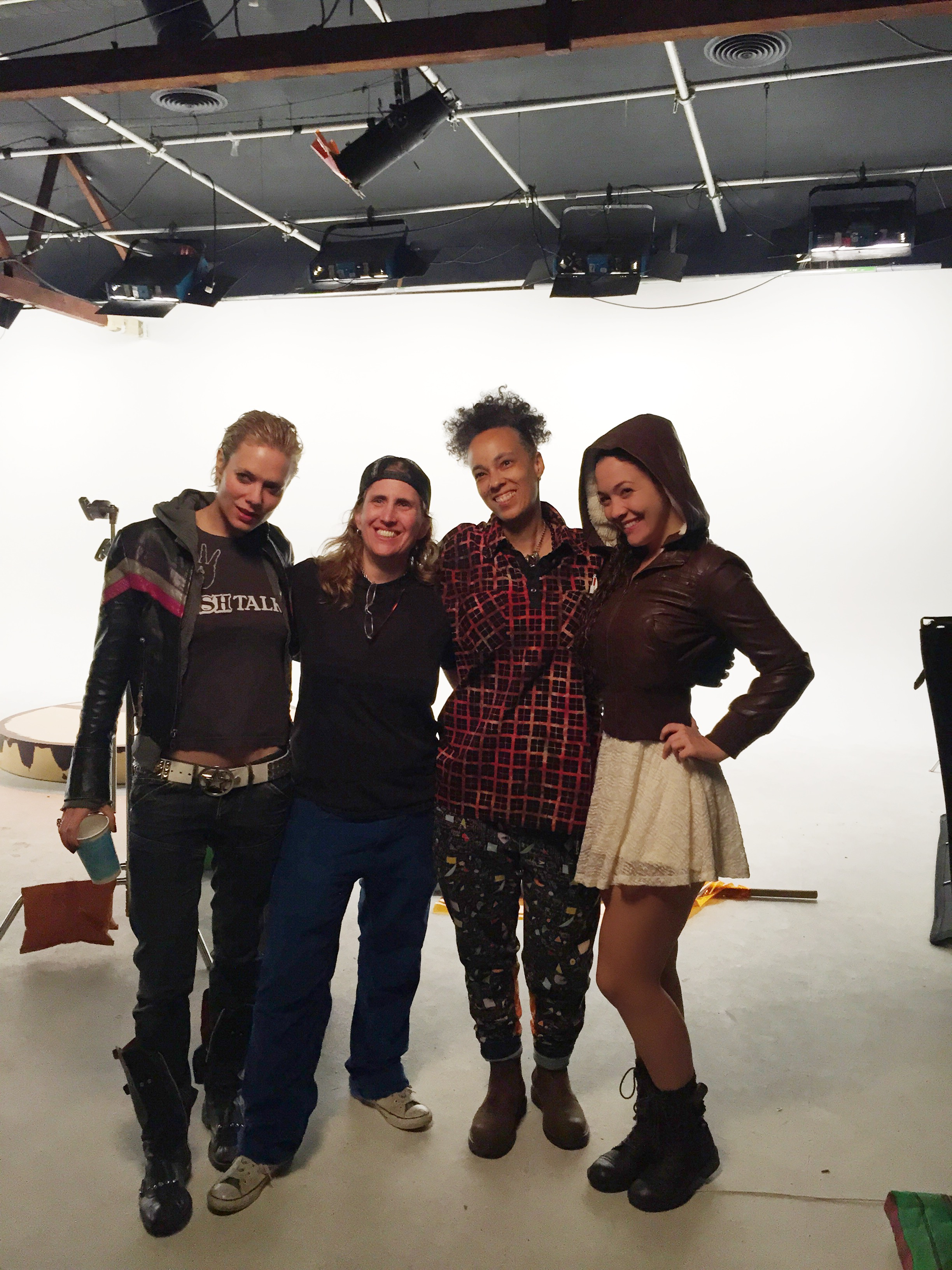 On the Set of Mongoose8 Feb 19, 2015  Left to Right Nina Bergman, Rosser Goodman, Oneita Parker, Stephanie Gerard