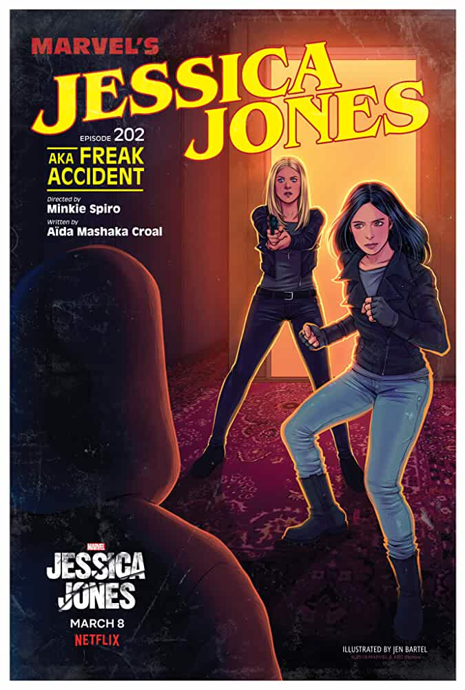 Marvel's Jessica Jones (2015) Season 1 Hindi Dubbed Complete  (Netflix)