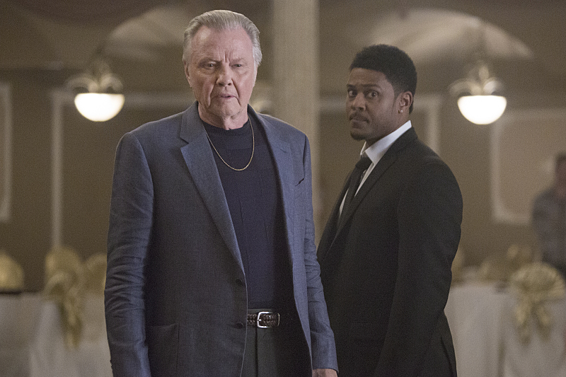 Jon Voight and Pooch Hall in Ray Donovan 2013