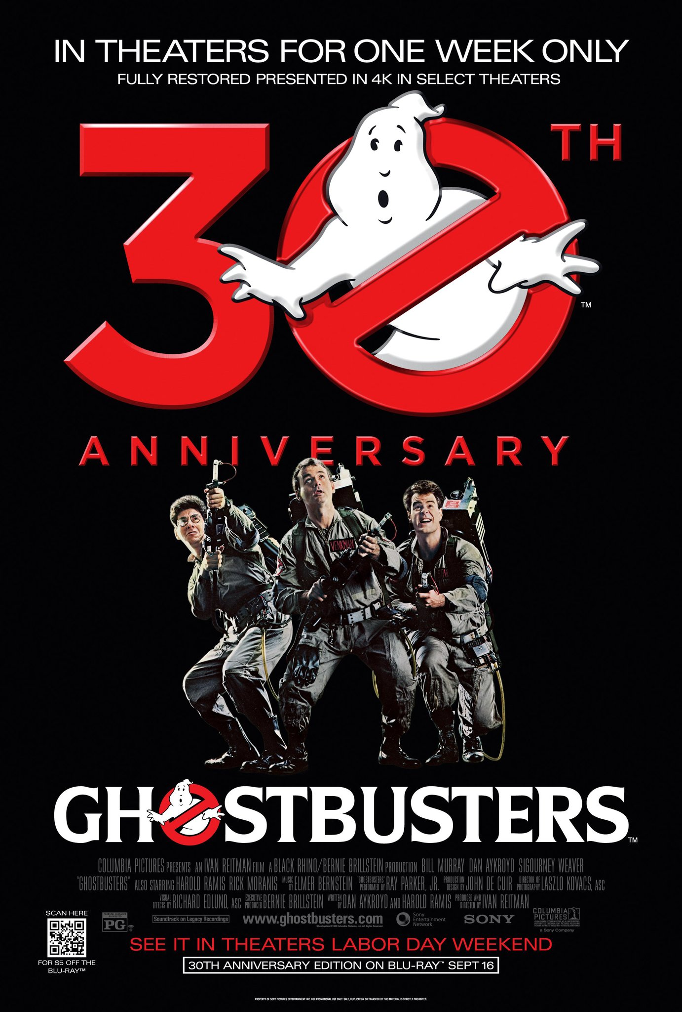 GHOSTBUSTERS Movie PHOTO Print POSTER Film Bill Murray Dan Aykroyd 1984 Art 001