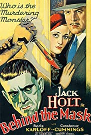Behind the Mask (1932) Poster - Movie Forum, Cast, Reviews