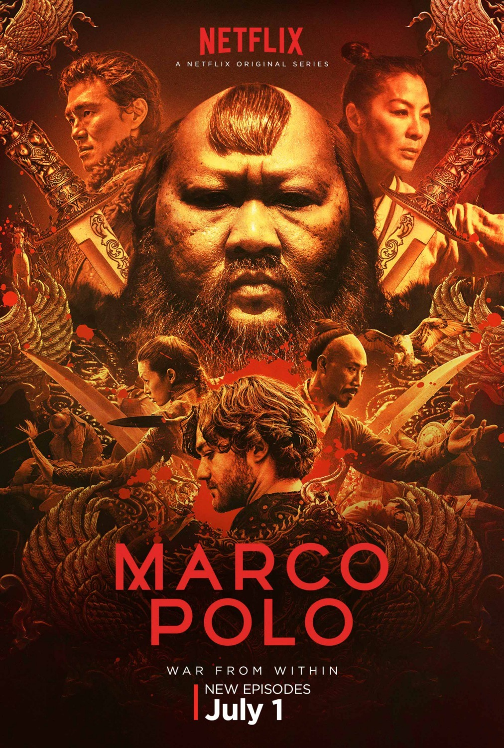 pretty nice 971f3 cf863 Marco Polo (TV Series 2014–2016) - IMDb