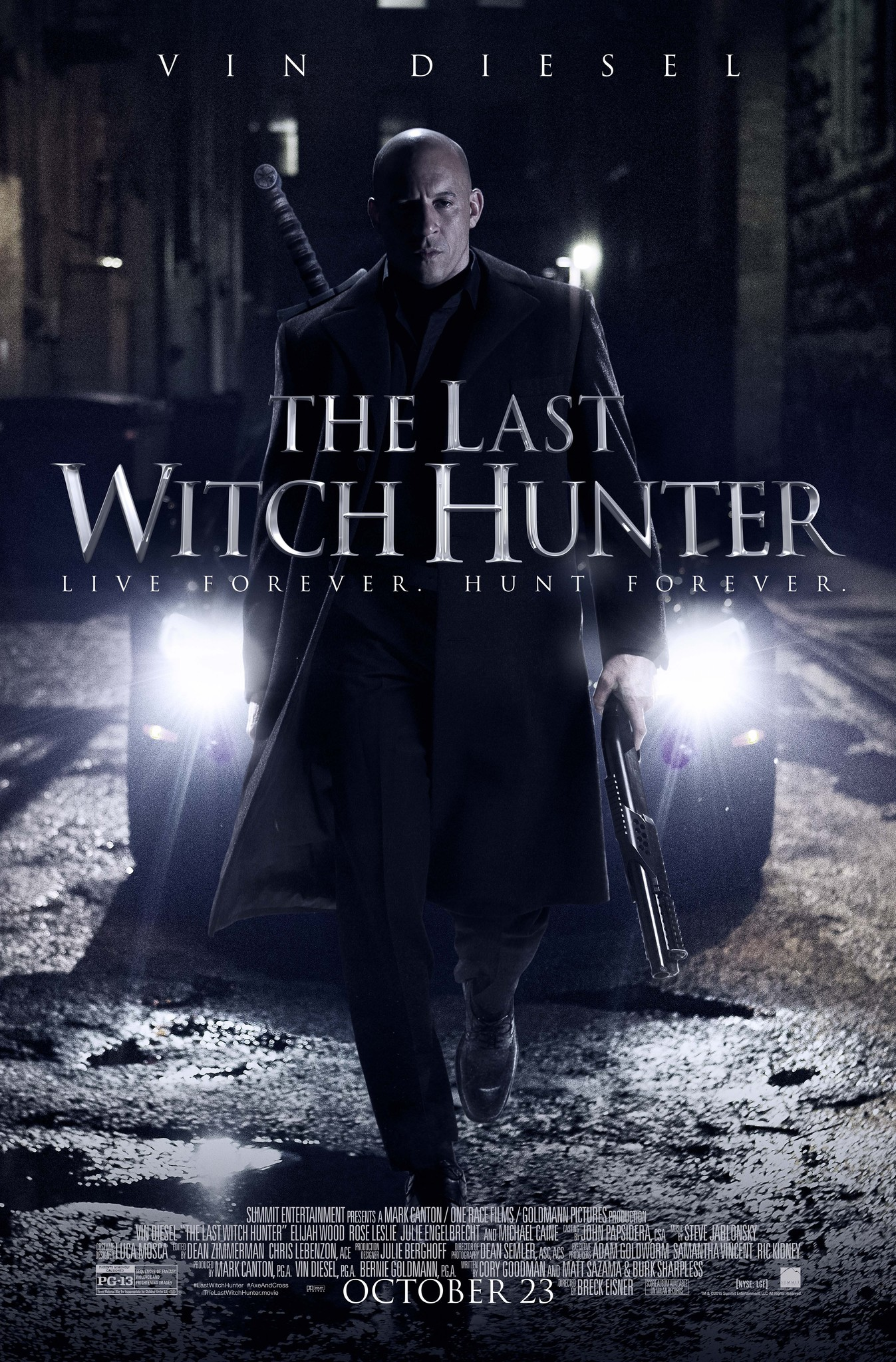 The Last Witch Hunter (2015) BluRay 480p, 720p & 1080p