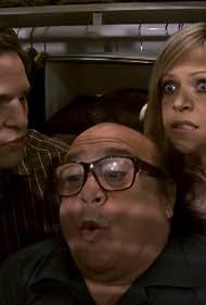 Danny DeVito, Kaitlin Olson, and Glenn Howerton in It's Always Sunny in Philadelphia (2005)