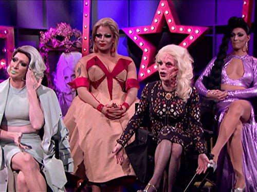 Michael Feliciano, Joey Santolini, Detox, and Katya Zamolodchikova in RuPaul's Drag Race All Stars (2012)