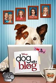 Regan Burns, Beth Littleford, Kuma, Stephen Full, Blake Michael, Genevieve Hannelius, and Francesca Capaldi in Dog with a Blog (2012)