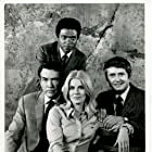 Billy Dee Williams, Carl Betz, Davey Davison, and Roger Perry in Premiere (1968)