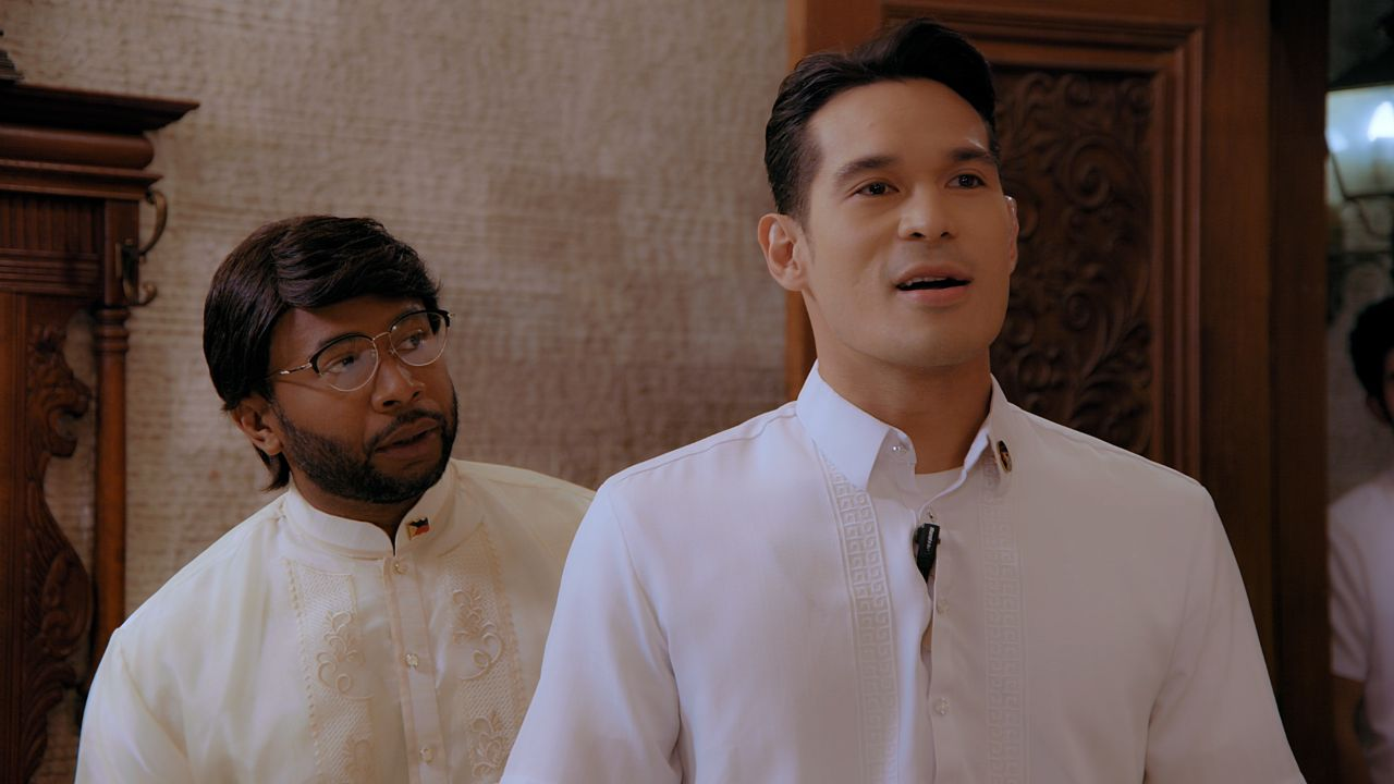 Thou Reyes and Pancho Magno in First Yaya (2021)