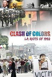 Clash of Colors: LA Riots of 1992 Poster