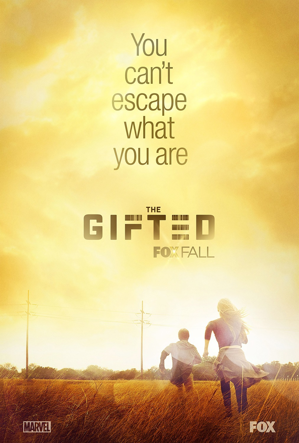Natalie Alyn Lind and Percy Hynes White in The Gifted (2017)