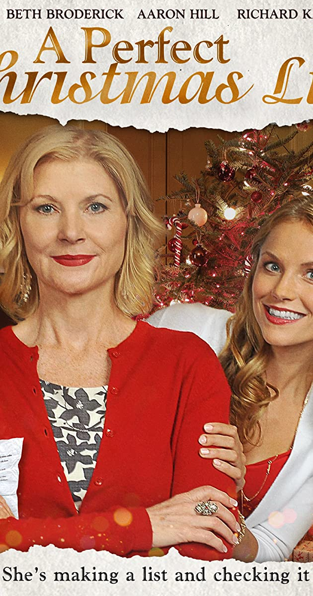 A Perfect Christmas List Tv Movie 2014 Imdb