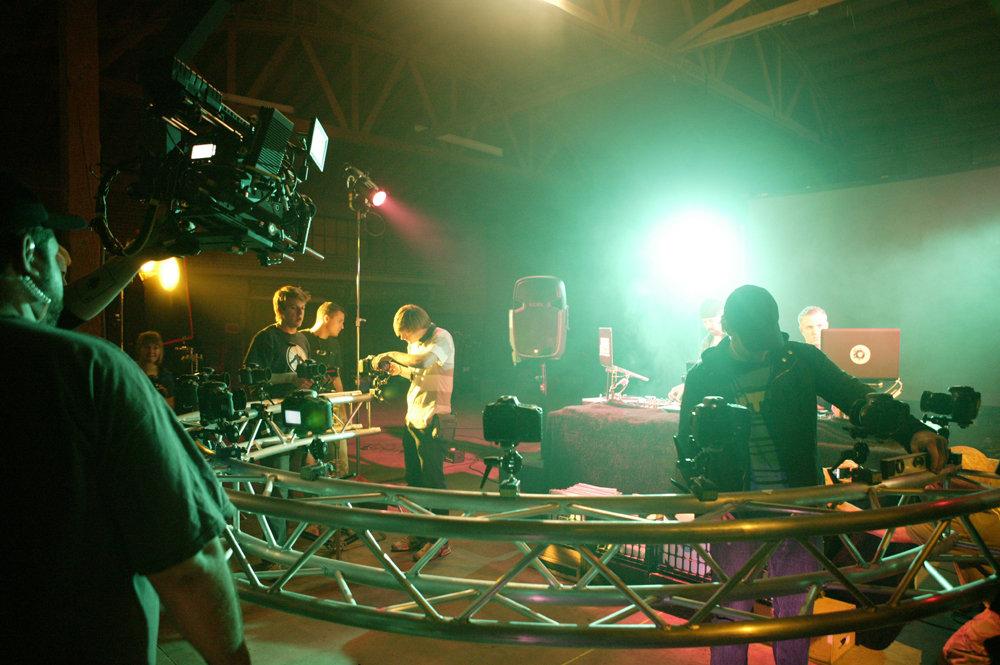 Toby Fulp, Daniel Colmenares, Ben Salvetti, Brian McCauley Johnson, Jon-Michael Mooney, Brett Belcastro, and Jason Epperson in The Playlist (2012)
