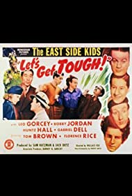 Philip Ahn, Tom Brown, Gabriel Dell, Leo Gorcey, Huntz Hall, Bobby Jordan, and Florence Rice in Let's Get Tough! (1942)