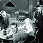 Humphrey Bogart, Bette Davis, Leslie Howard, and Dick Foran in The Petrified Forest (1936)