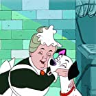 Rod Taylor and Martha Wentworth in One Hundred and One Dalmatians (1961)