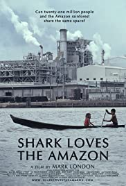 Shark Loves the Amazon Poster